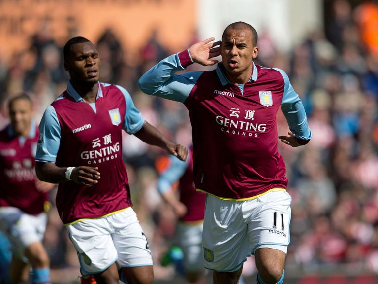 Gabriel Agbonlahor: Has scored three goals in his last four starts