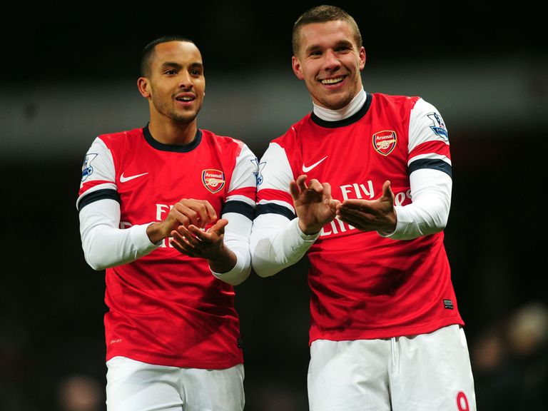 Lukas Podolski: Has netted 16 times for Arsenal this season