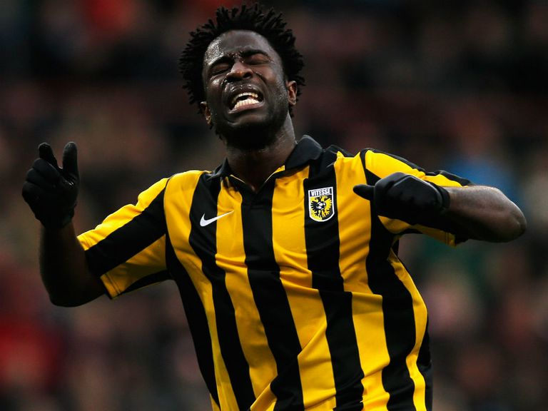 Wilfried Bony: Set to join Swansea from Vitesse Arnhem