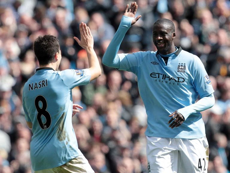 Yaya Toure: Signed a four-year deal in April