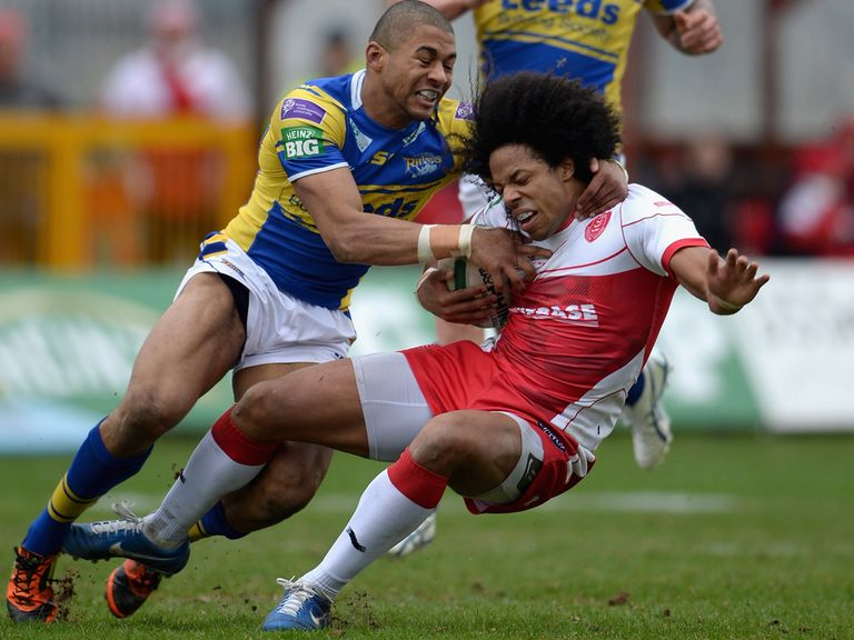 Leeds defeated Hull KR on Sunday.
