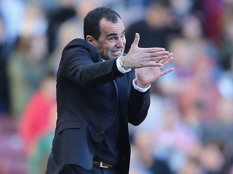 Roberto Martinez: Demands a certain way of playing