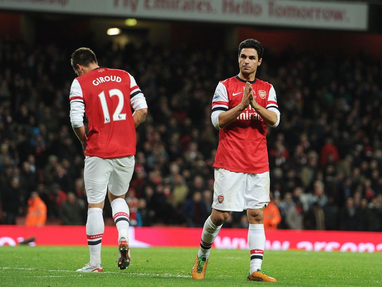 Mikel Arteta: 'It will be a difficult battle for everyone'