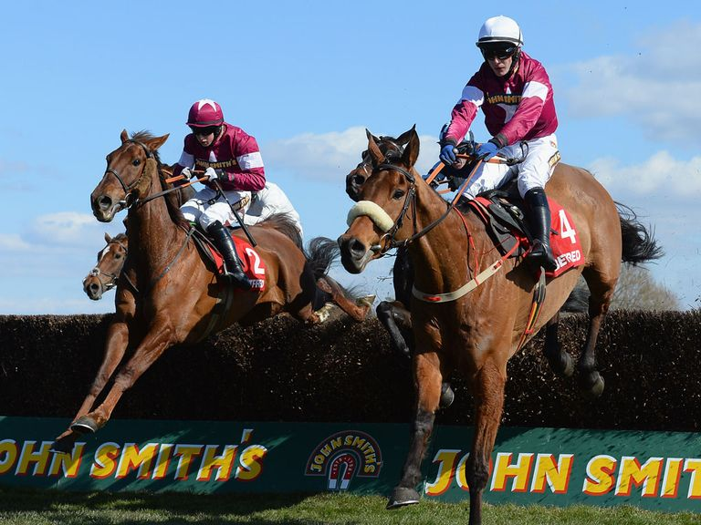Quito De La Roque (right): Anticipated to run a big race at Aintree