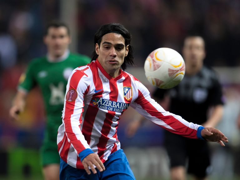 Radamel Falcao: Dismisses rumours regarding his future
