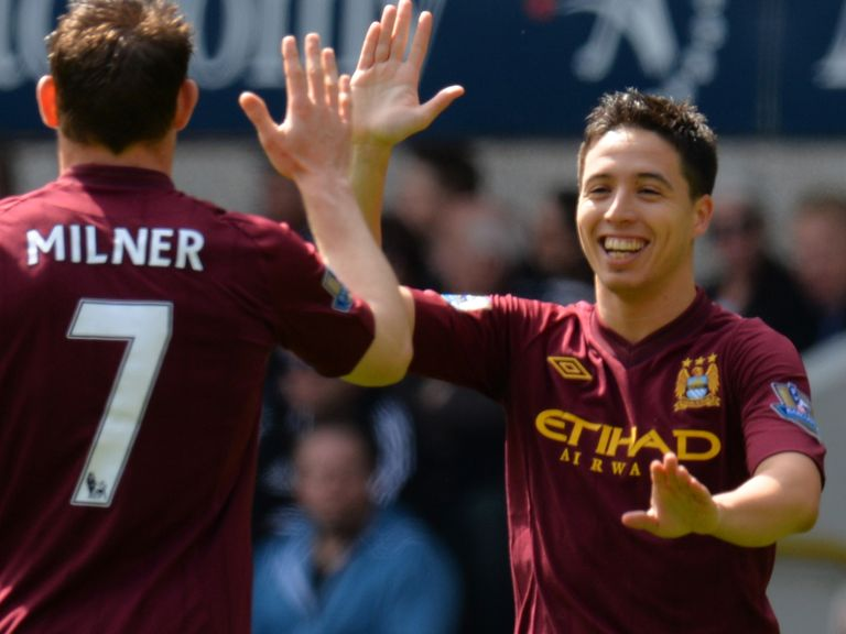Samir Nasri: Has produced some impressive displays in recent weeks