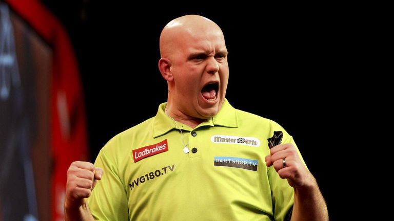Van Gerwen: No stopping Mighty Mike in Dubai Duty Free Darts Masters