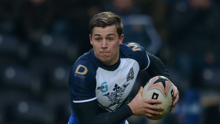 Jamie Shaul: Will hope to add to his five tries in two senior appearances for Hull this term
