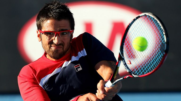 Janko Tipsarevic: Wasn't able to force a break-point opportunity against his teenage opponent
