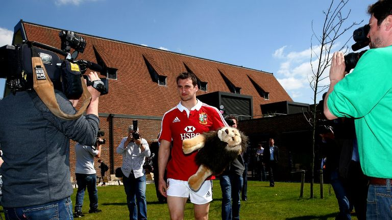 Sam Warburton: Insists the Lions will be ready