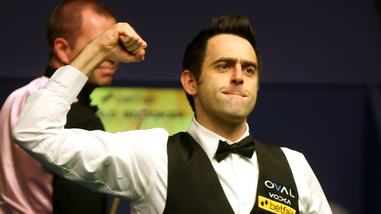 Ronnie O'Sullivan: undecided on defending his Crucible crown