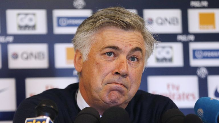 Carlo Ancelotti: Could leave PSG in the summer