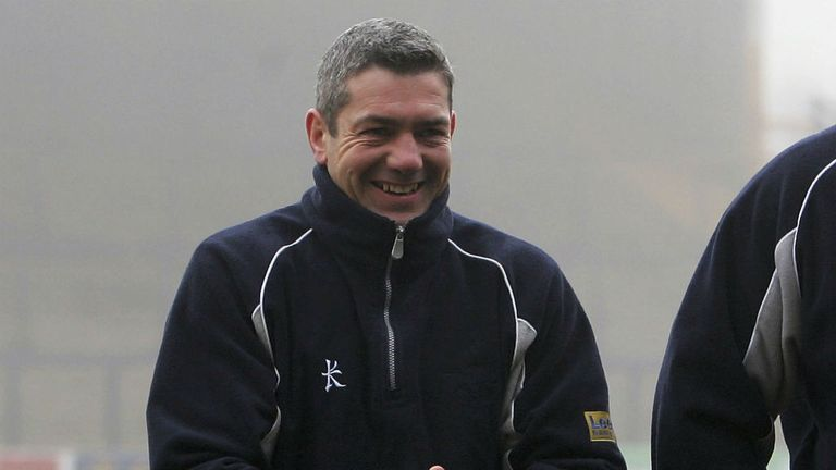 Daryl Powell: Not smiling despite point at London