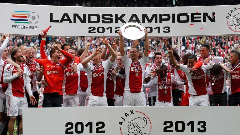 Ajax: Lift the Eredivisie title for the third year in a row