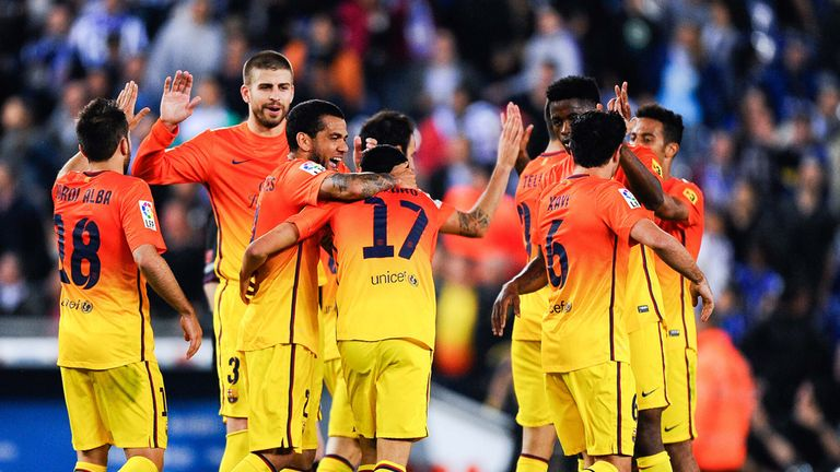 It was a comfortable night for Barcelona