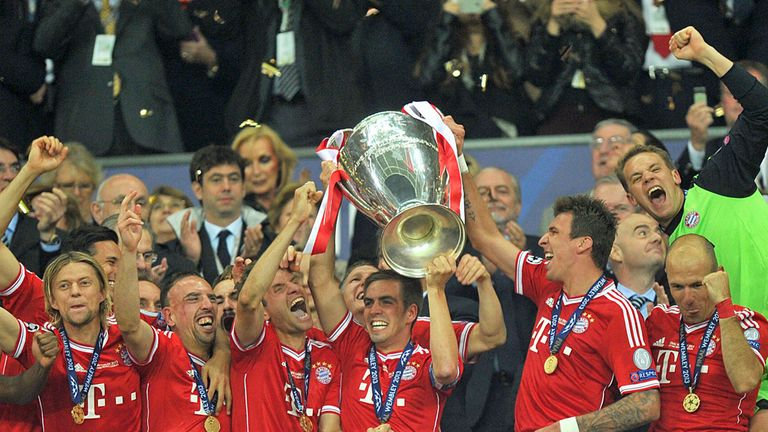 Bayern Munich: Earned £47.3m from their Champions League triumph