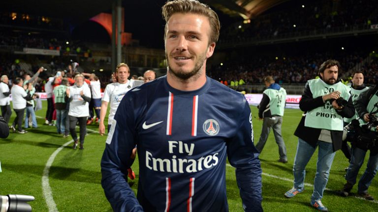 David Beckham: Title-winner in four different countries