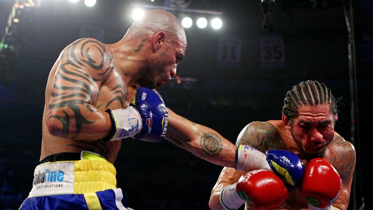 And this time the roles were reversed... without Cotto's wrapes playing a part