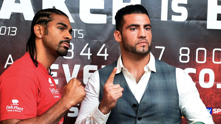 Manuel Charr (R): Is confident he will KO David Haye and earn a re-match with Klitschko