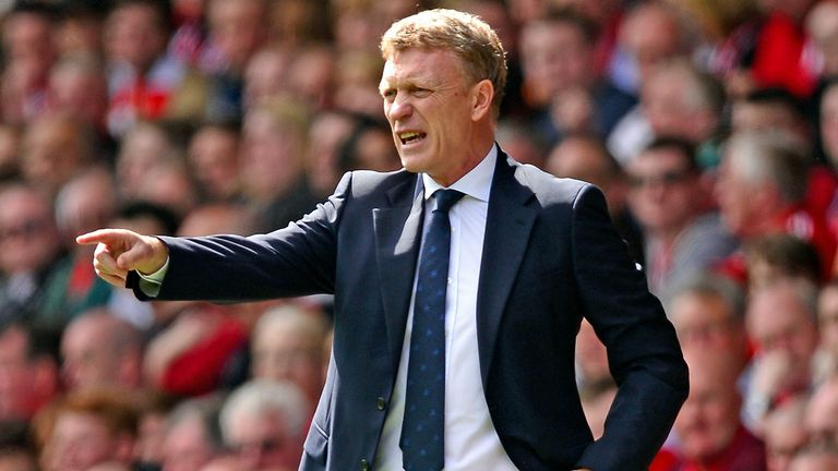 David Moyes: Was linked with a move to Chelsea earlier this season but is now the favourite to replace Sir Alex Ferguson