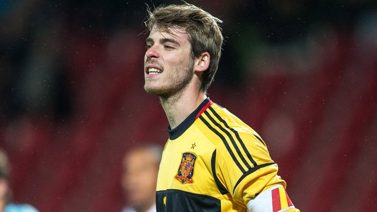 David de Gea: Believes it is possible to become the world's best goalkeeper