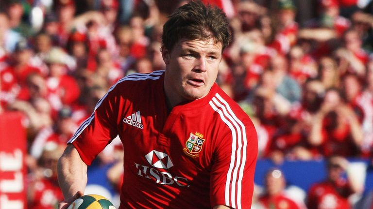 Brian O'Driscoll is relieved to be touring Australia with the Lions