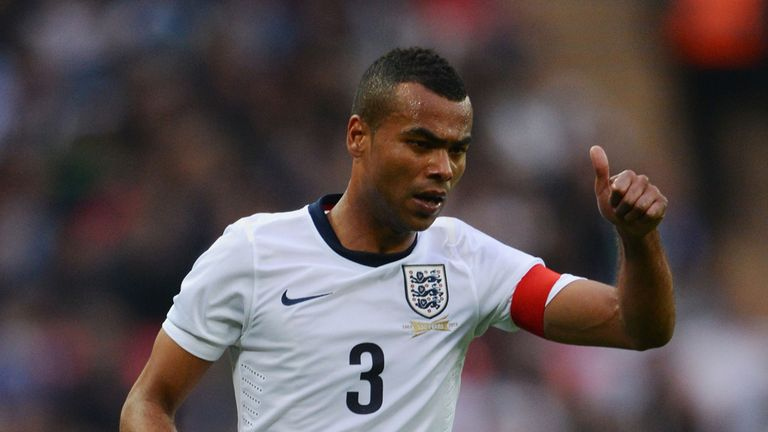 Ashley Cole: England defender has been targeted by fans in the past