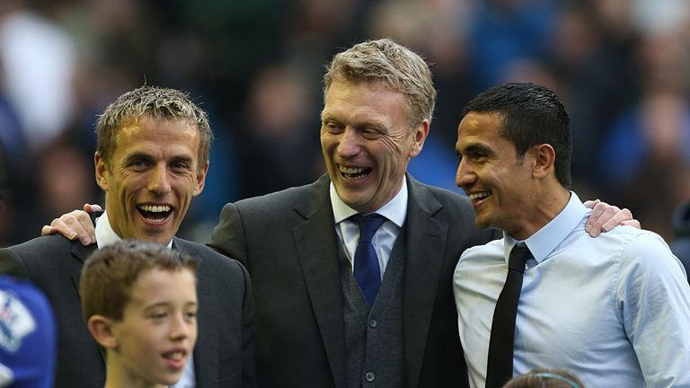 David Moyes: Backing Phil Neville to be a success as a coach
