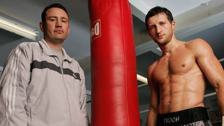 Rob McCracken: has been with Froch from the very start