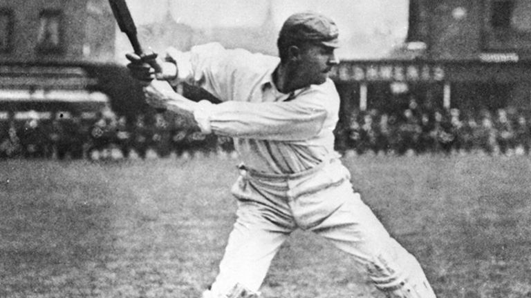 Victor Trumper starred for Australia prior to World War I