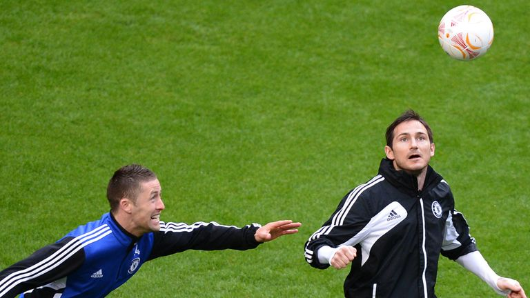 Gary Cahill and Frank Lampard will return to England following Chelsea's friendly with Manchester City on Thursday