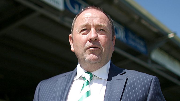 Gary Johnson: Discussing future at Huish Park