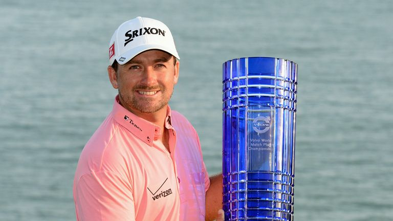 Graeme McDowell: With the World Match Play trophy