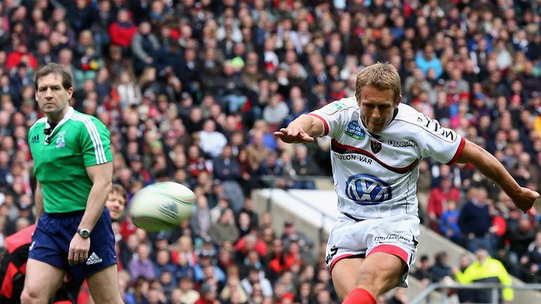 Jonny Wilkinson: Shortlisted for the ERC European Player of the Year 2013