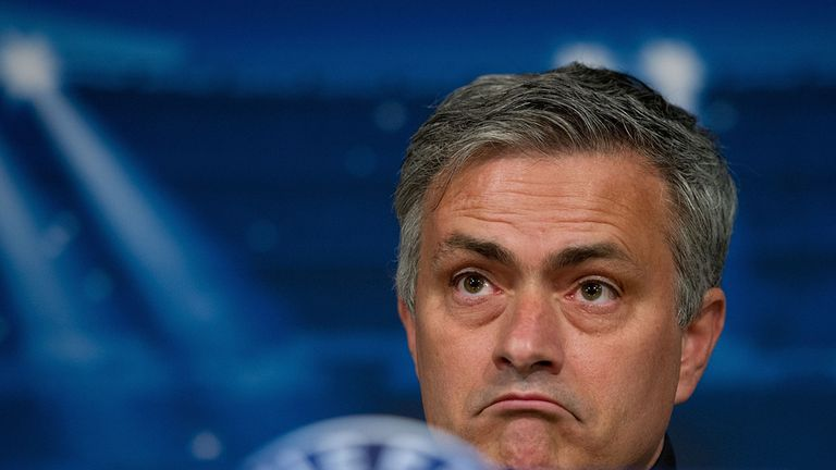 Mourinho: accused of 'child-like' behaviour in press conferences