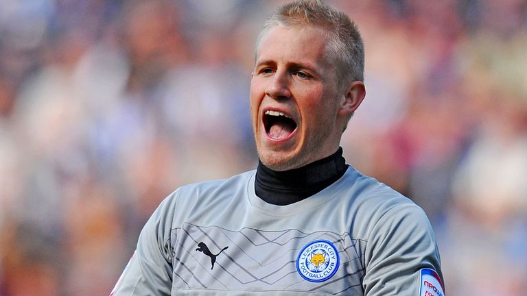 Kasper Schmeichel: One of the players Nigel Pearson wants to build his Leicester side around