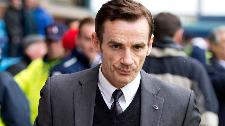 Danny Lennon: Still in charge of St Mirren