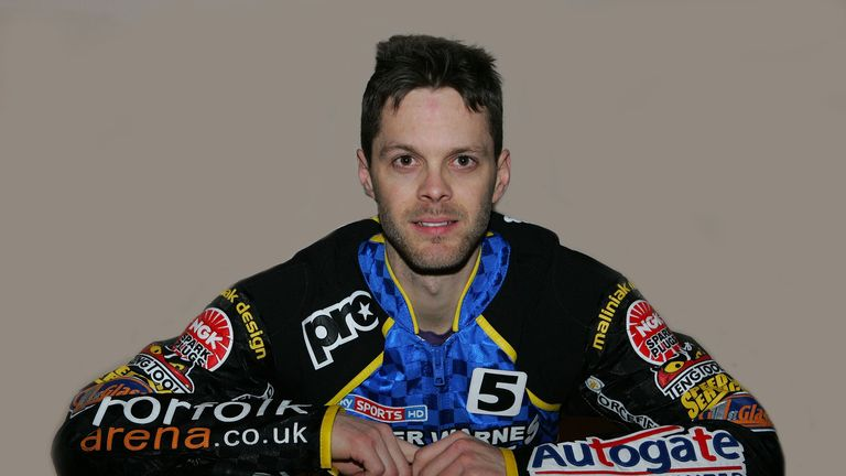 Rory Schlein: Dual winner of Elite League Riders' Championship (credit: norfolkarena.co.uk)