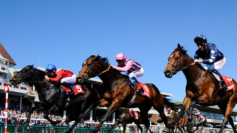 Kingsgate Native (left): Aiming for third Temple Stakes victory