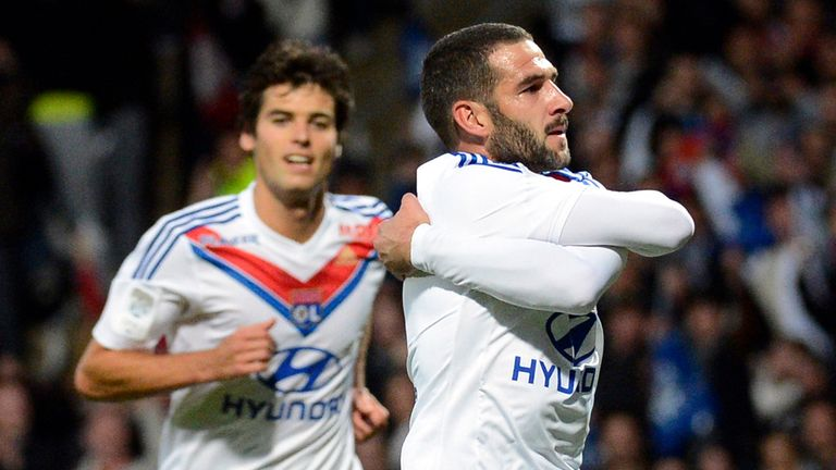 Lisandro Lopez: The striker impressed during his time at Lyon