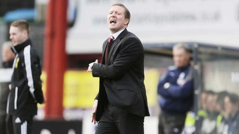 Gary Locke: Says his side must improve in the final third following defeat to St Johnstone