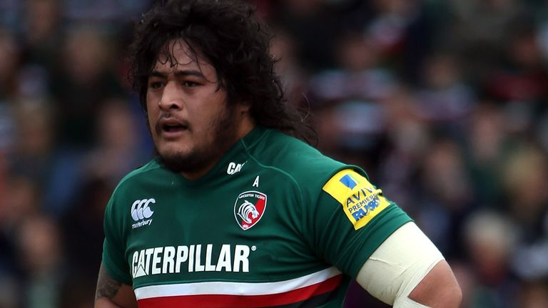 New contract: Leicester prop Logovi'i Mulipola