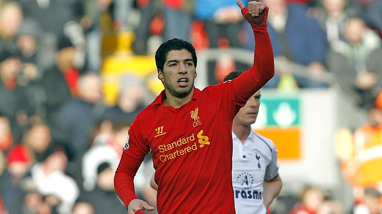 Luis Suarez: Liverpool boss Brendan Rodgers is confident the striker will still be at the club next season