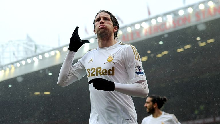 Michu: Happy to stay at the Liberty Stadium