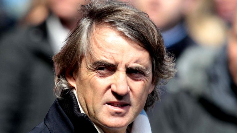 Roberto Mancini: His City side are huge favourites to lift the FA Cup