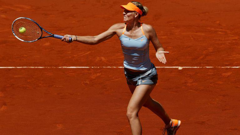 Maria Sharapova: Recorded her 500th career win to move into final