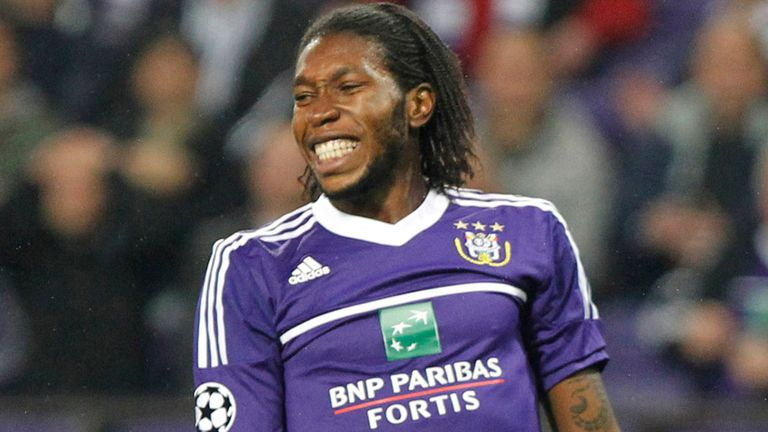 Dieumerci Mbokani: Set for a move away from Anderlecht