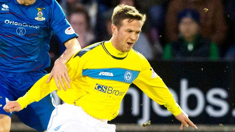 Chris Millar: Settled with St Johnstone