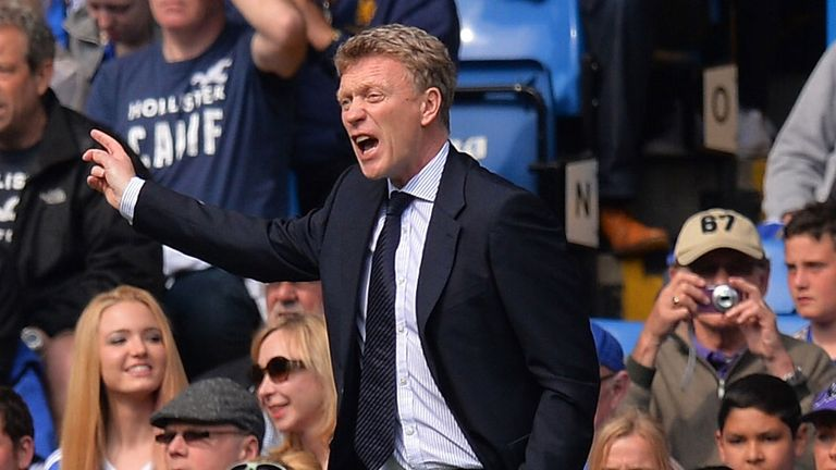 David Moyes: Took control of final Everton game on Sunday