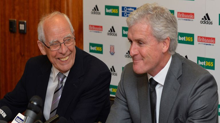 Peter Coates: Will back manager Mark Hughes if the right deal comes along